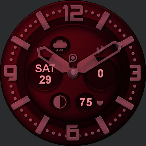 INFINITY COLOR Watch Face