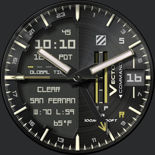 Vector Command GMT w/Complications rc