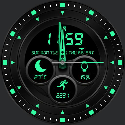 APOLLO Watch Face