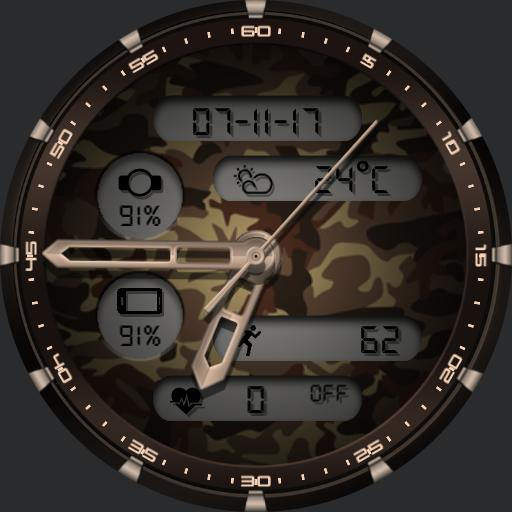 CAMOUFLAGE Watch Face