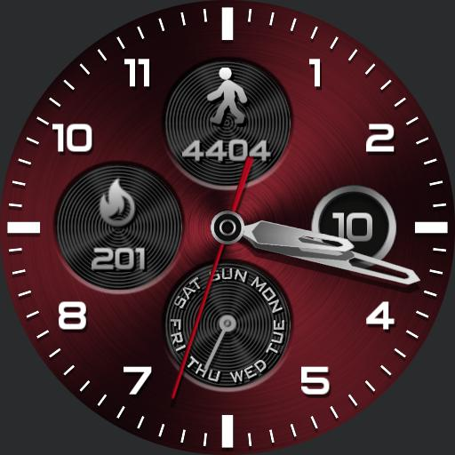 STEEL COLORS Watch Face