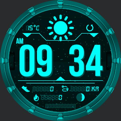 GALACTIC Watch Face