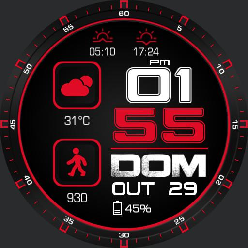 SECTOR Watch Face
