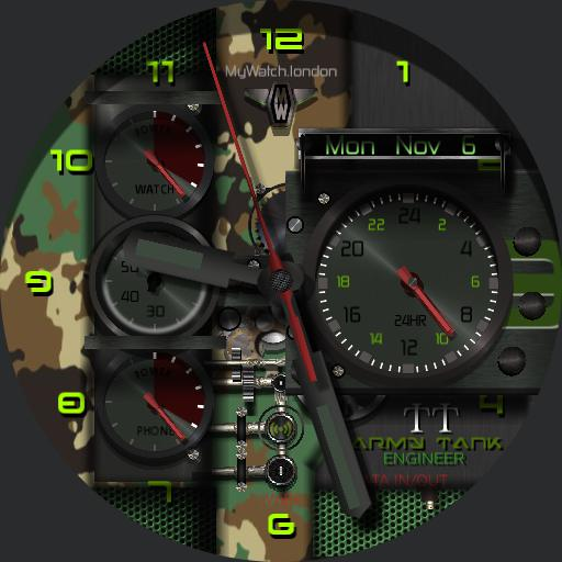 MyWatch-ATE Army TANK Engineer