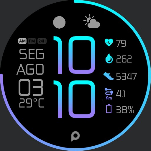 COLOR Fit Watch Face