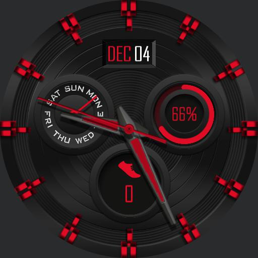 DARK COLORS Watch Face