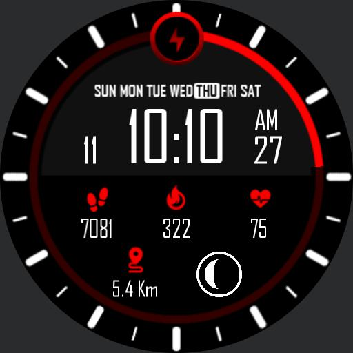 WALKING Watch Face