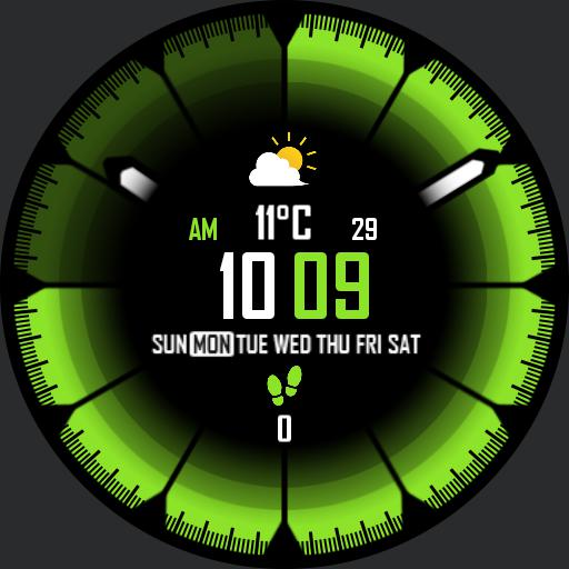 DEEP COLORS v3 Watch Face