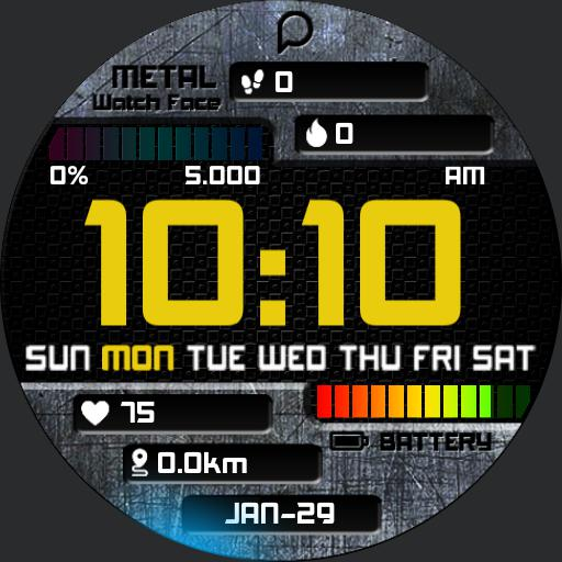 METAL Watch Face