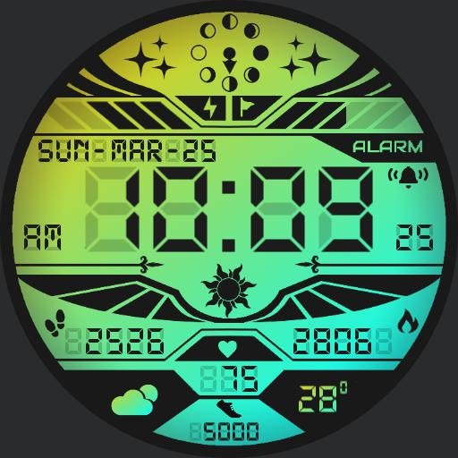 ICARUS GRADIENT Watch Face