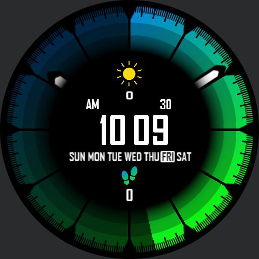 DEEP COLORS v4 Watch Face