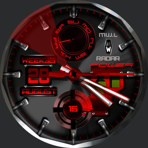 Mywatch-Radar ODS Red