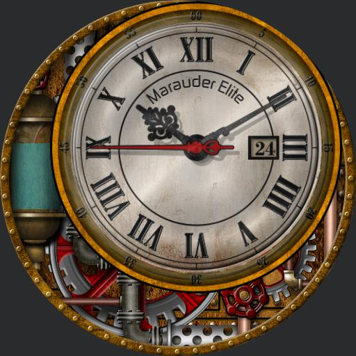 Steampunk X - Steam Clock
