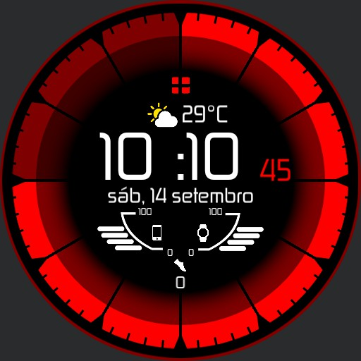 Deep Colors Watch Face