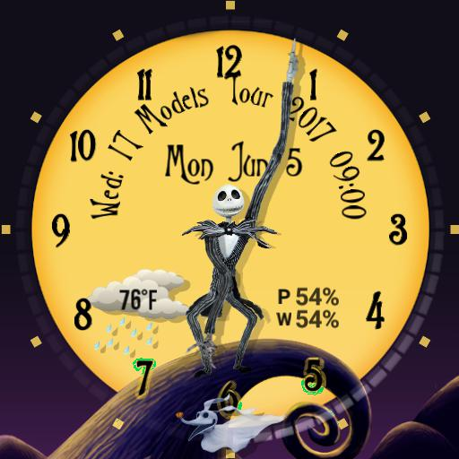 Nightmare Before Christmas  - Round watch face