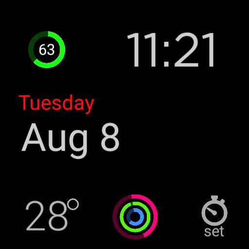 apple watch face type