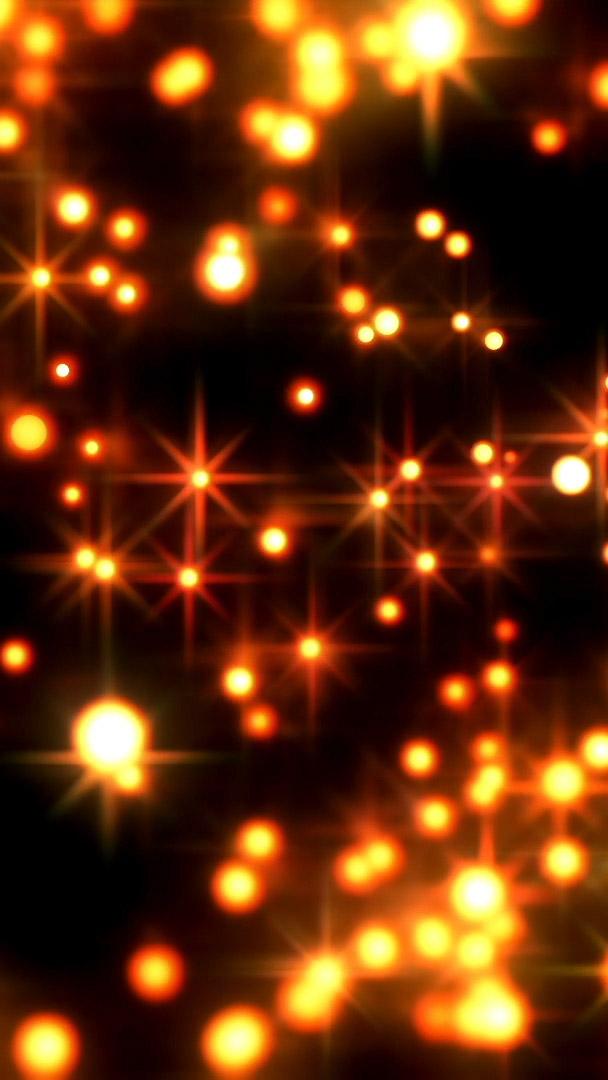flashing stars