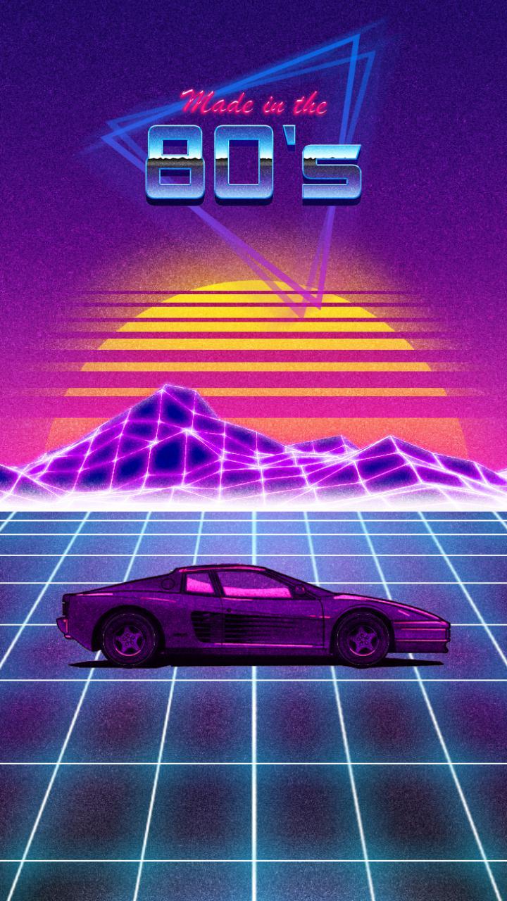 RETRO 80s 2 Live Wallpaper