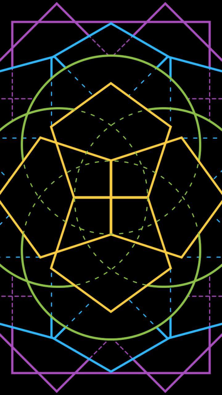 Geometric Mandala Multicolor