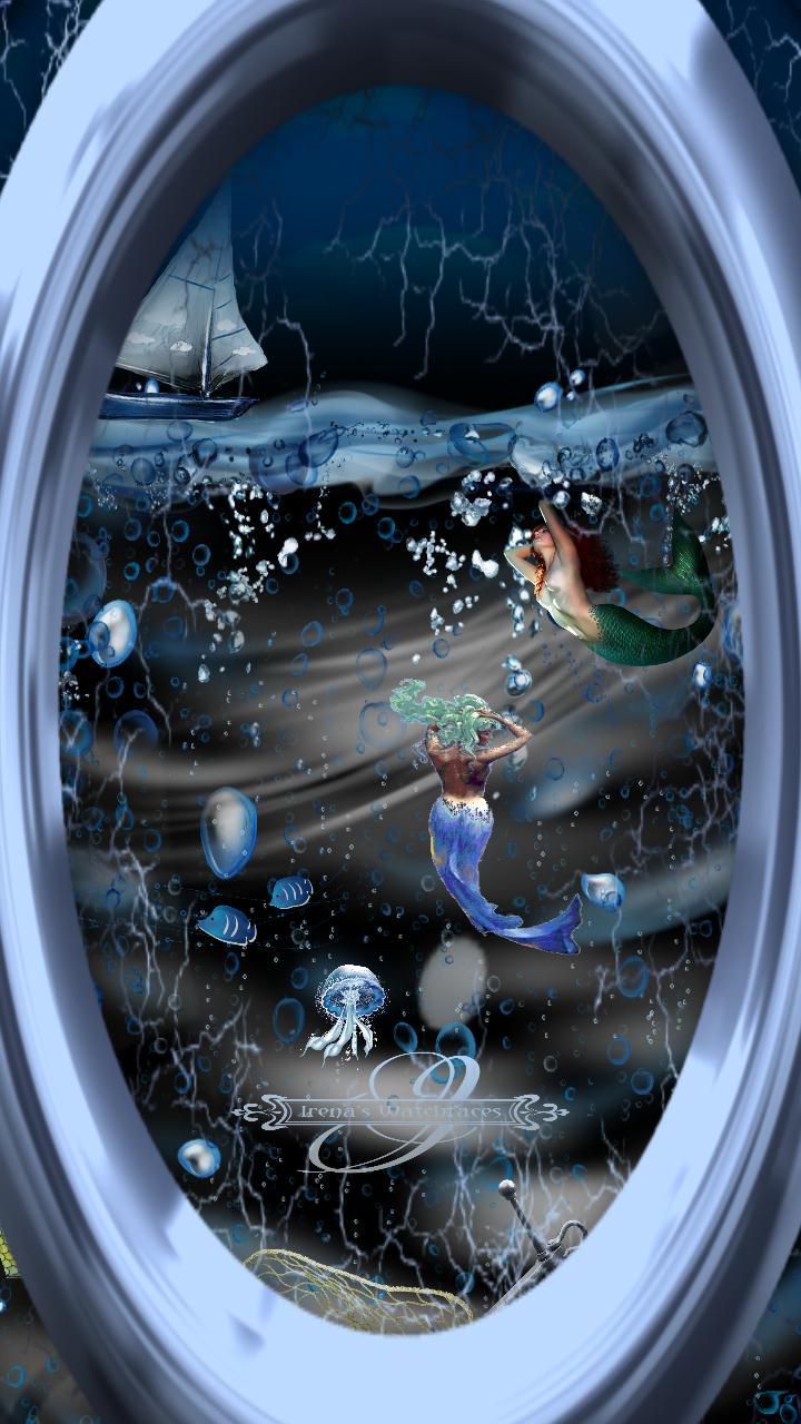 Mermaid World Animation Rahmen