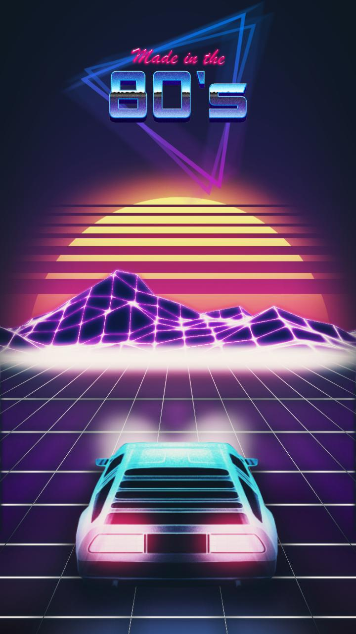 RETRO 80s Live Wallpaper