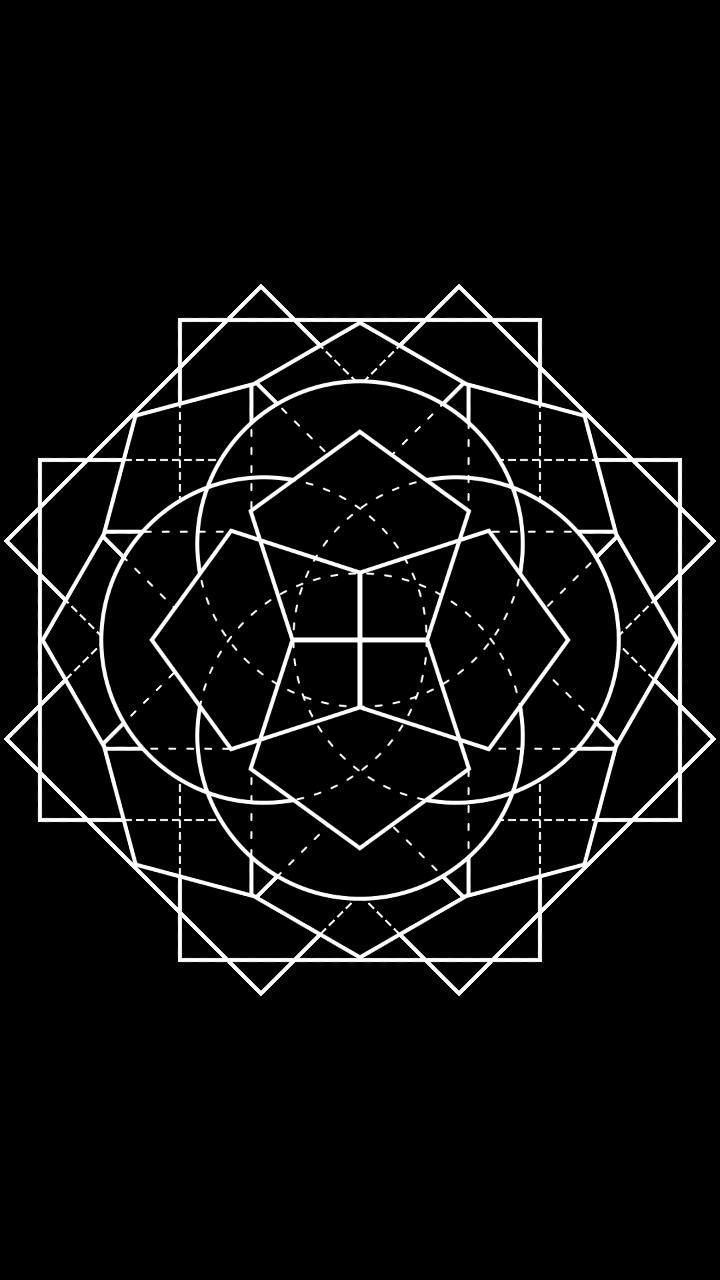 Geometric Mandala Small