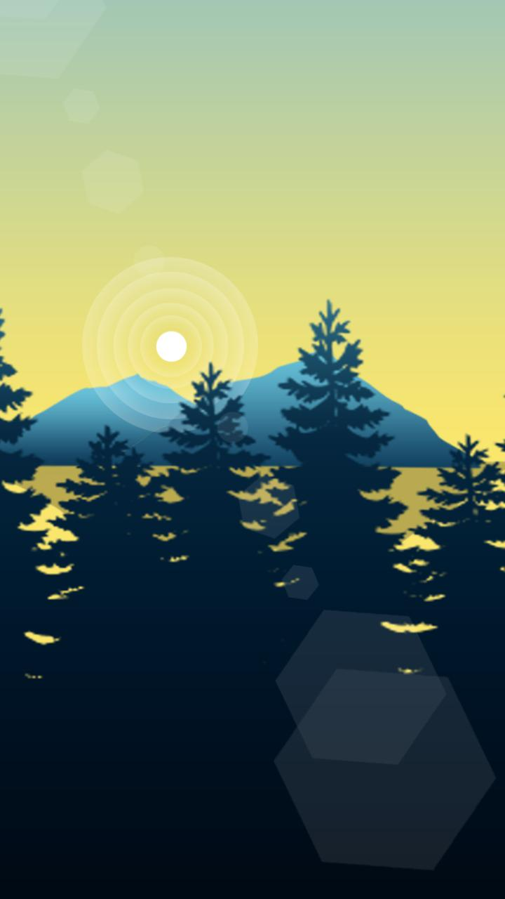 FOREST PARALLAX Live Wallpaper