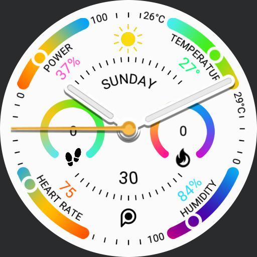PRD Fit 4 Light Watch Face