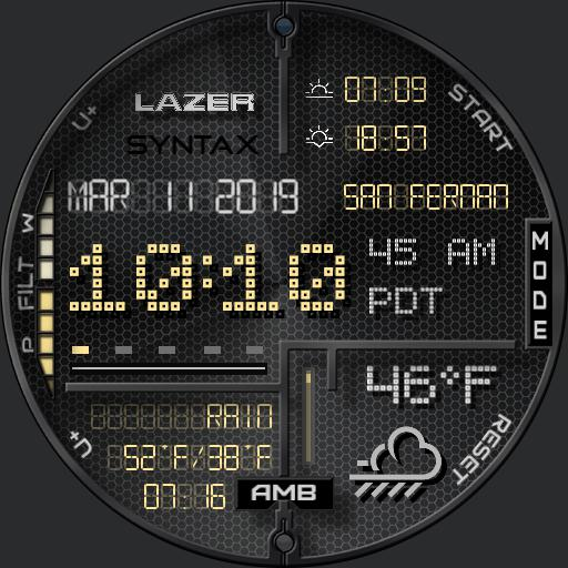 Lazer Syntax - w/Complications rc3