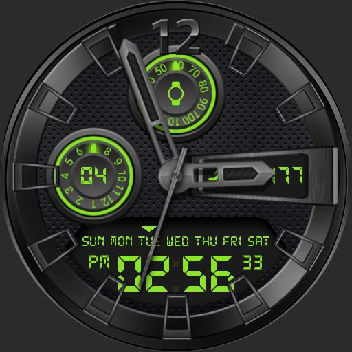 ARES Watch Face