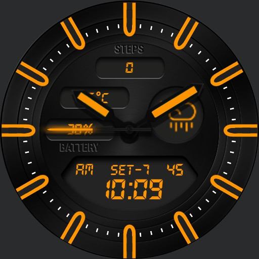 BLACK KNIGHT Watch Face