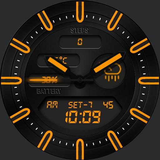 BLACK KNIGHT Watch Face