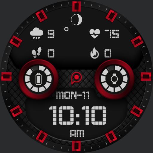 DELTA 2 Watch Face