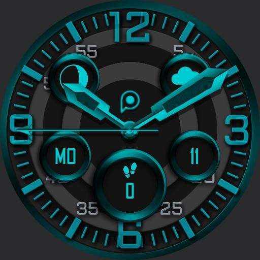 HUNTER 2 Watch Face