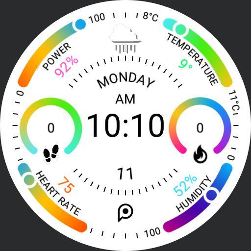 PRD Fit 4 DIGITAL Light Watch Face