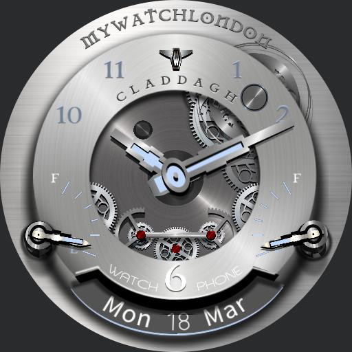 MYWATCH-CLADDAGH HEARTS