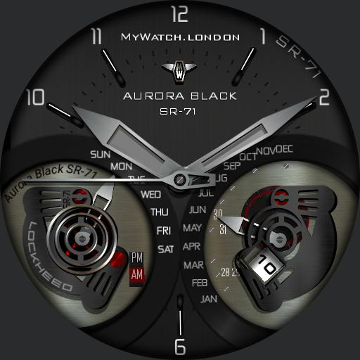 MYWATCH-AURORA BLACK SR-71 v2