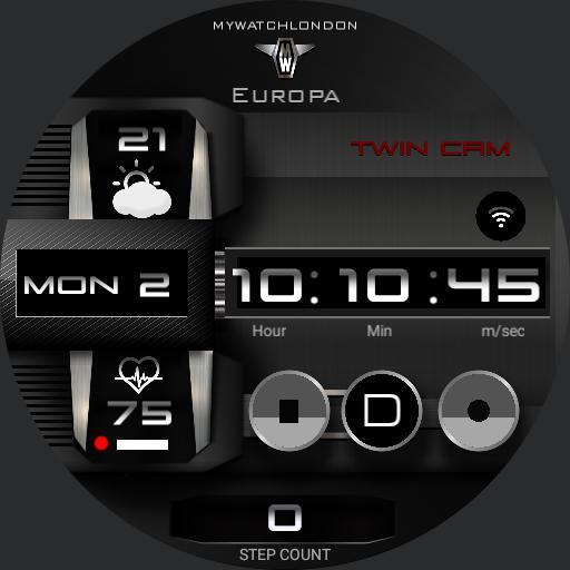 MYWATCH-EUROPA TWINCAM