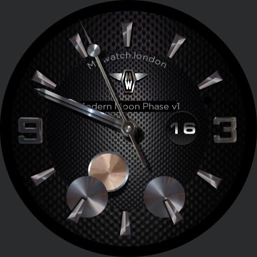 MyWatch-Modern Moon Phase
