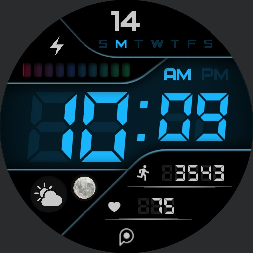 ACTIVE DIGITAL Watch Face