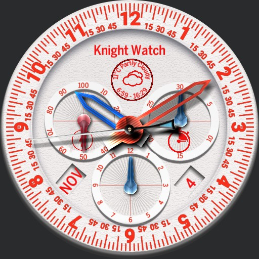 Snow white knight