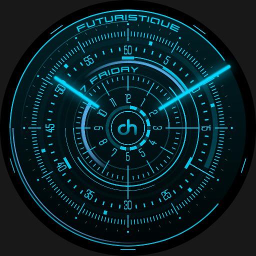 DarkHero Futuristique