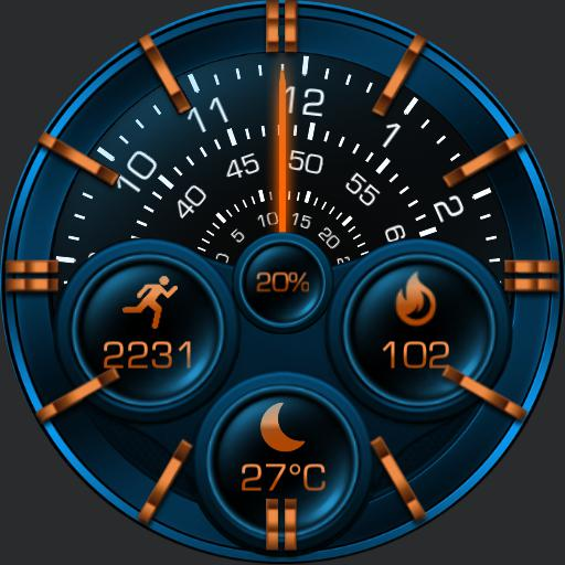 THESEUS ROTATE Watch Face