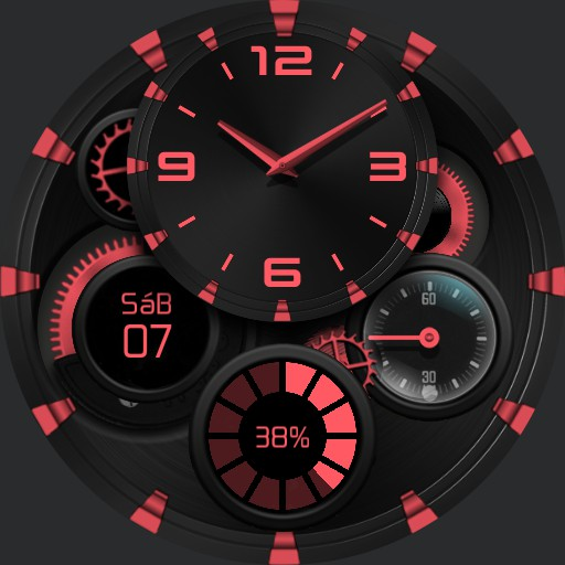WILD DESERT Watch Face