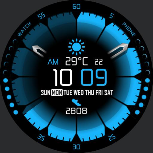 DEEP COLORS v2 Watch Face