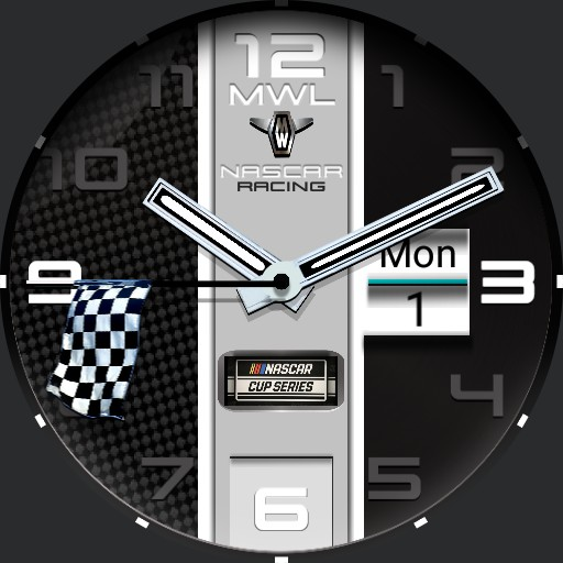 MYWATCH-NASCAR RACING