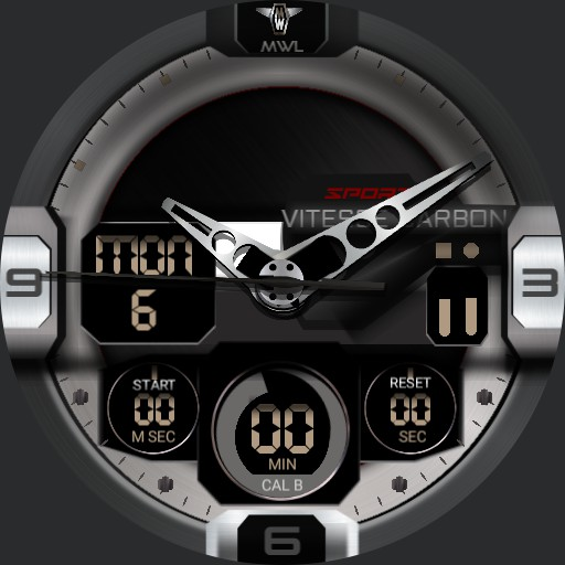 MYWATCH-SPORT VITESSE CARBON