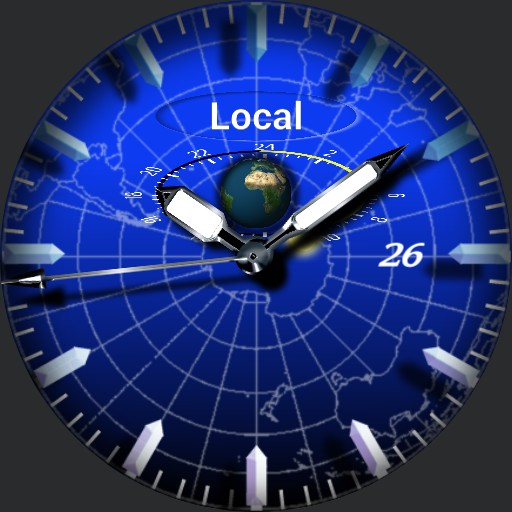 Blue chrono