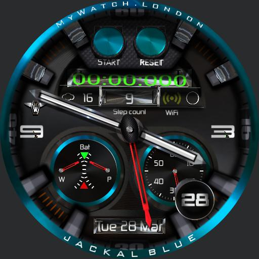 MyWatchBlue Jackal v2