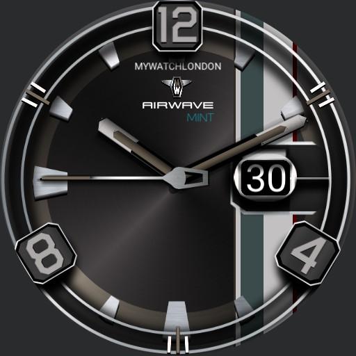 MYWATCH-AIRWAVE MINT